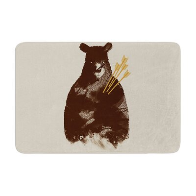 Tobe Fonseca in Love Bear Memory Foam Bath Rug