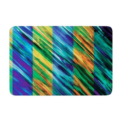 Theresa Giolzetti Set Stripes II Memory Foam Bath Rug