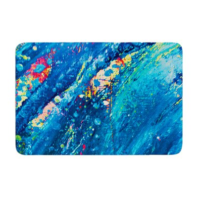 Theresa Giolzetti Big Wave Memory Foam Bath Rug