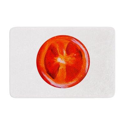Theresa Giolzetti Tomatoes Memory Foam Bath Rug