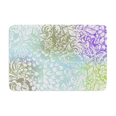 Vikki Salmela Bloom Softly for You Memory Foam Bath Rug
