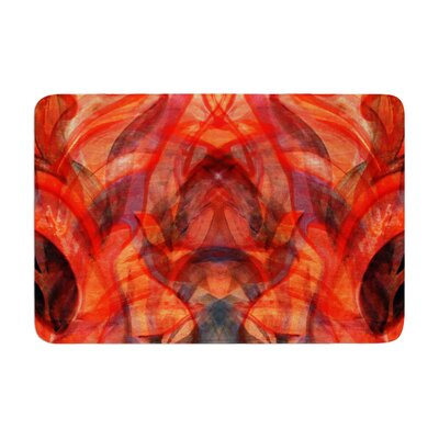 Theresa Giolzetti Seaweed Abstract Memory Foam Bath Rug