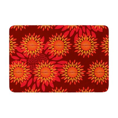 Billington Sunflower Season Memory Foam Bath Rug