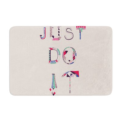 Vasare Nar Just Do It Memory Foam Bath Rug