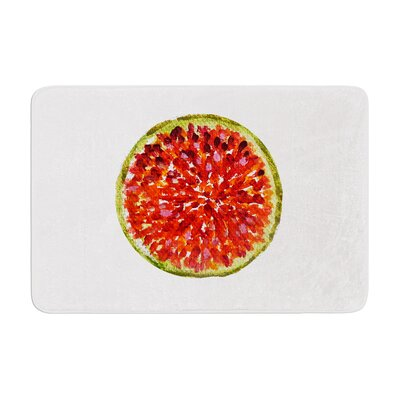 Theresa Giolzetti Passion Fruit Memory Foam Bath Rug