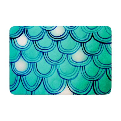Theresa Giolzetti Mermaid Tail Memory Foam Bath Rug