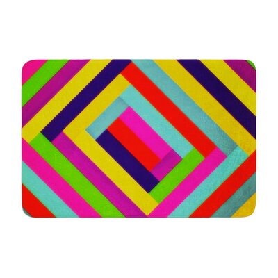 Trebam Nakriv Abstract Memory Foam Bath Rug