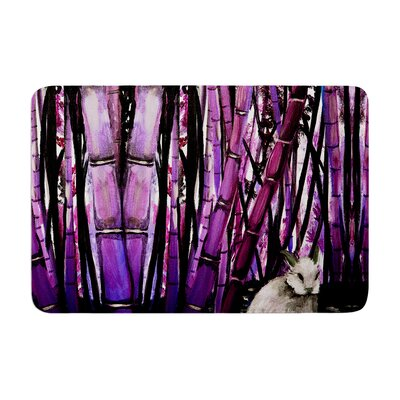 Theresa Giolzetti Bamboo Bunny Memory Foam Bath Rug