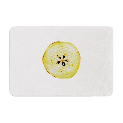 Theresa Giolzetti Apples Memory Foam Bath Rug