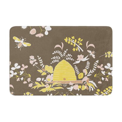 Very Sarie Hope for the Flowers II Memory Foam Bath Rug