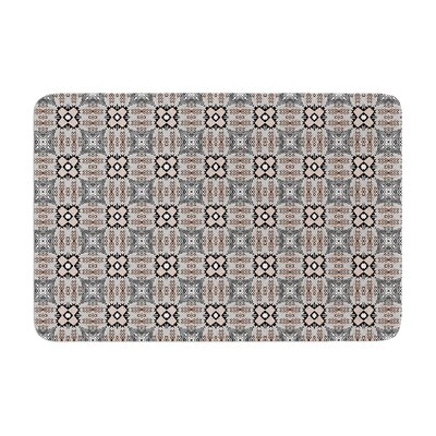 Vasare Nar African Nomad Pattern Memory Foam Bath Rug