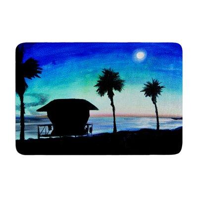 Theresa Giolzetti Carlsbad State Beach Memory Foam Bath Rug