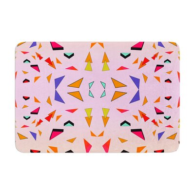 Vasare Nar Candy Land Tropical Geometric Memory Foam Bath Rug