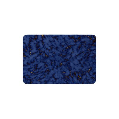 Will Wild Marble Abstract Memory Foam Bath Rug