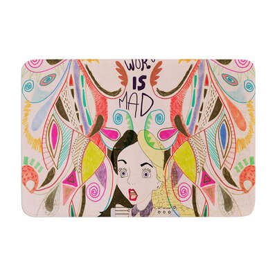 Vasare Nar Alice in Wonderland Memory Foam Bath Rug