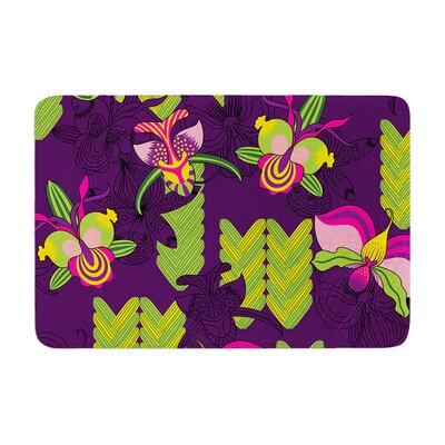Billington Orchids Festival Memory Foam Bath Rug