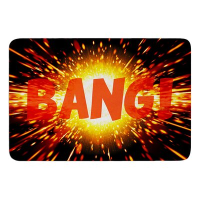Bang by KESS InHouse Bath Mat
