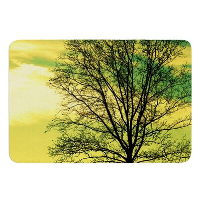 Tree Sky by Robin Dickinson Bath Mat