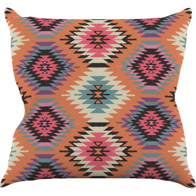 Navajo Dreams by Amanda Lane Throw Pillow Size: 18 H x 18 W x 1 D