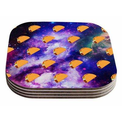 Taco Galaxy by Juan Paolo Coaster