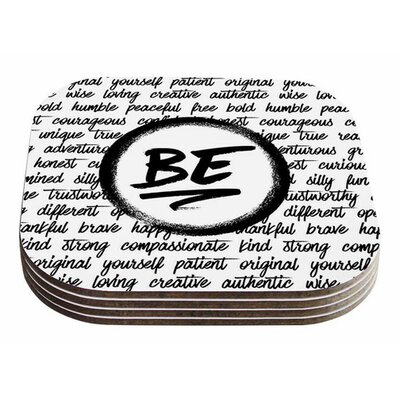 Be... by Noonday Design Coaster
