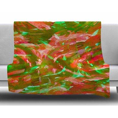 Motley Flow 3 by Ebi Emporium Fleece Blanket