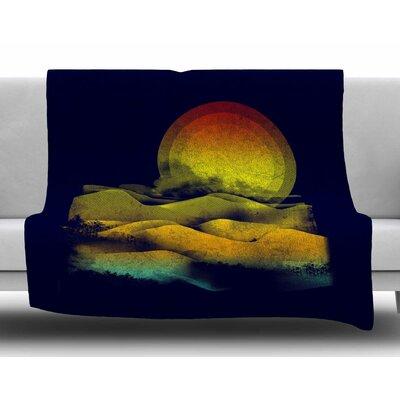 Sunset by Frederic Levy-Hadida Fleece Blanket