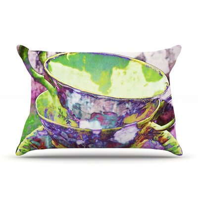Mad Hatters T-Party II by alyZen Moonshadow Cotton Pillow Sham