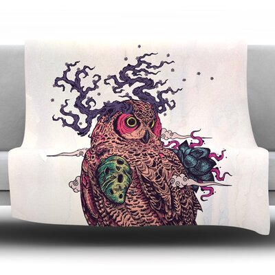 Regrowth by Mat Miller Fleece Throw Blanket Size: 40 H x 30 W x 1 D