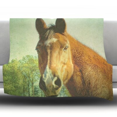 CT by Robin Dickinson Fleece Throw Blanket Size: 60 H x 50 W x 1 D