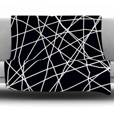Paucina by Trebam Fleece Throw Blanket Size: 90 H x 90 W x 1 D