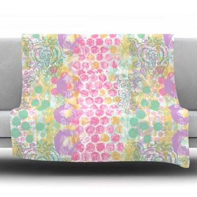 Impression by Chickaprint Fleece Throw Blanket Size: 80 H x 60 W x 1 D