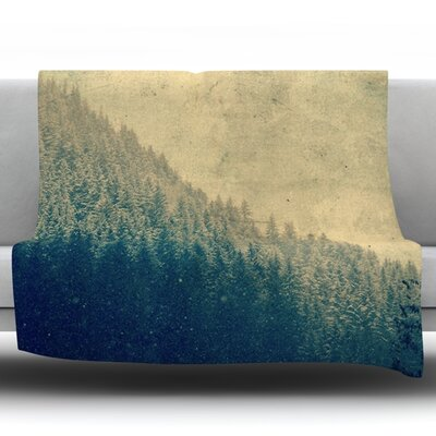 Any Road Will Do by Robin Dickinson Fleece Throw Blanket Size: 90 H x 90 W x 1 D