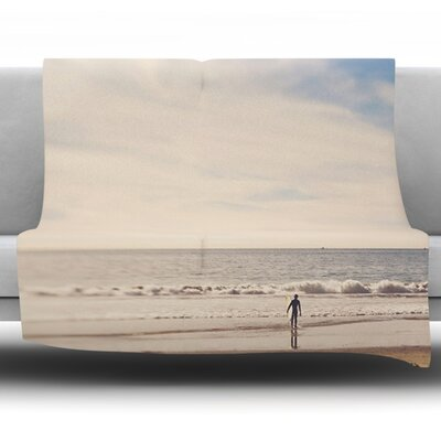 Ritual by Myan Soffia Fleece Throw Blanket Size: 40 H x 30 W x 1 D