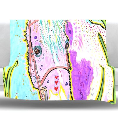 Nemo by Rebecca Fischer Fleece Throw Blanket Size: 60 H x 50 W x 1 D