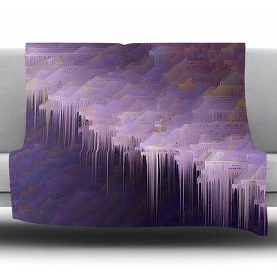 Malibu by Michael Sussna Fleece Throw Blanket Size: 60 H x 50 W x 1 D