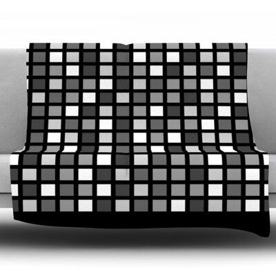 Plocica by Trebam Fleece Throw Blanket Size: 60 H x 50 W x 1 D