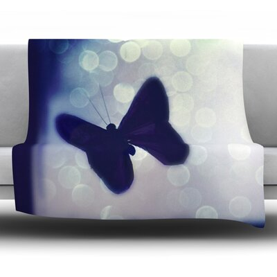 Enchanted by Robin Dickinson Fleece Throw Blanket Size: 60 H x 50 W x 1 D