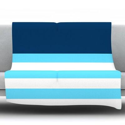 Nauticki by Trebam Fleece Throw Blanket Size: 80 H x 60 W x 1 D