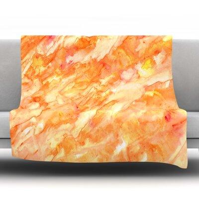 Autumn by Rosie Fleece Throw Blanket Size: 60 H x 50 W x 1 D