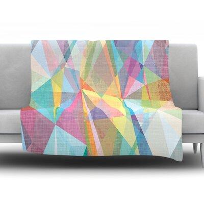 Graphic 32 by Mareike Boehmer Fleece Throw Blanket Size: 60 H x 50 W x 1 D