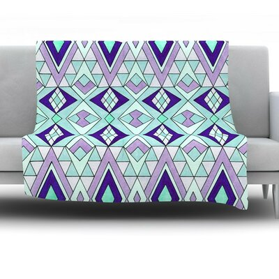 Gems by Pom Graphic Design Fleece Throw Blanket