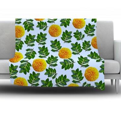 More Marigold by Sreetama Ray Fleece Throw Blanket SR1025AFB01