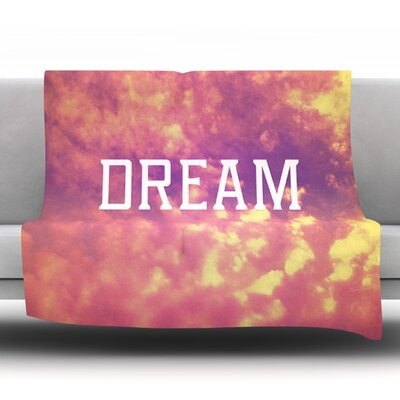Dream Fleece Throw Blanket Size: 60 L x 50 W