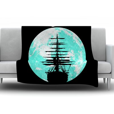 Voyage by Micah Sager Fleece Throw Blanket Size: 40 H x 30 W x 1 D