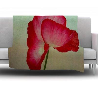 La Te Da by Robin Dickinson Fleece Throw Blanket Size: 90 H x 90 W x 1 D