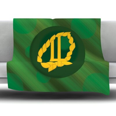 Jupiter Fleece Throw Blanket Size: 40 L x 30 W