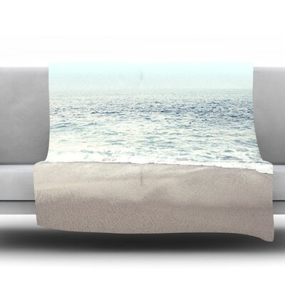 The Sea Fleece Throw Blanket Size: 40 L x 30 W