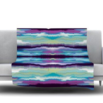 Artik Stripe Fleece Throw Blanket Size: 80 L x 60 W