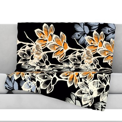 Crocus Throw Blanket Size: 60 L x 50 W